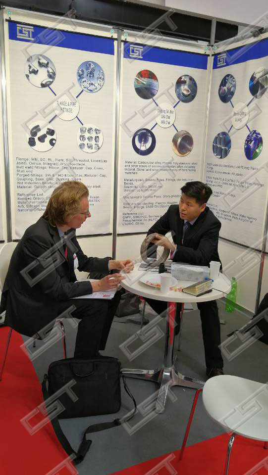 Cangzhou Steel Pipe&Fittings CO.LTD attended the Tube &Wire Dusseldorf 2018